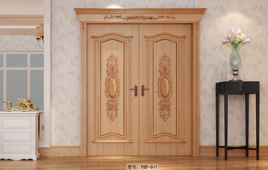 详解免漆室内门的pvc贴面