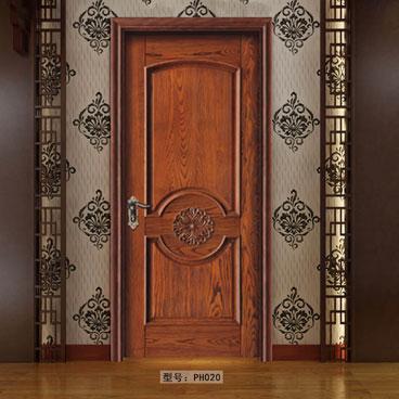 盼盼原木门PH020|室内门|盼盼木门