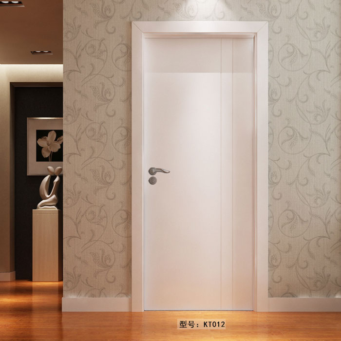 盼盼实木复合门KT012|盼盼木门