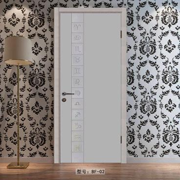 盼盼实木复合烤漆门BB02|室内门