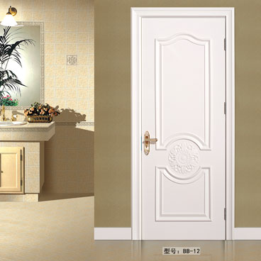 盼盼实木复合烤漆门BB-12|室内门