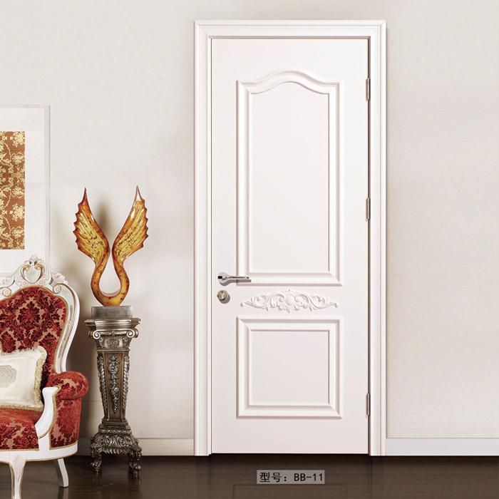盼盼实木复合烤漆门BB11|室内门