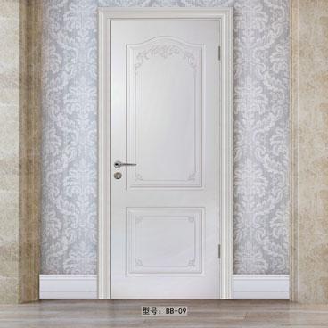 盼盼实木复合烤漆门BB09|室内门