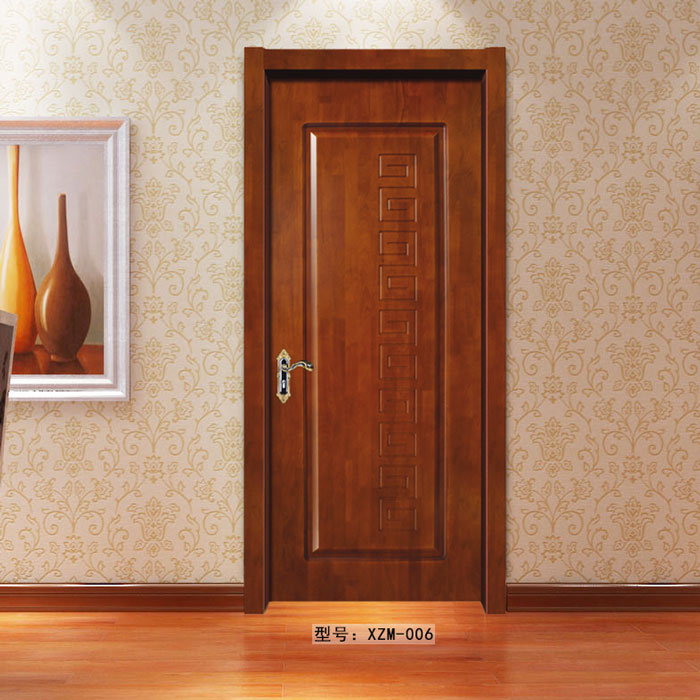 盼盼实木门XZM006|室内门|盼盼木门