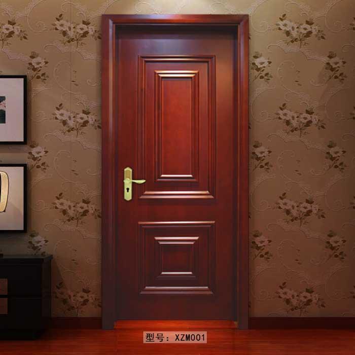 盼盼实木门XZM001|室内门|盼盼木门