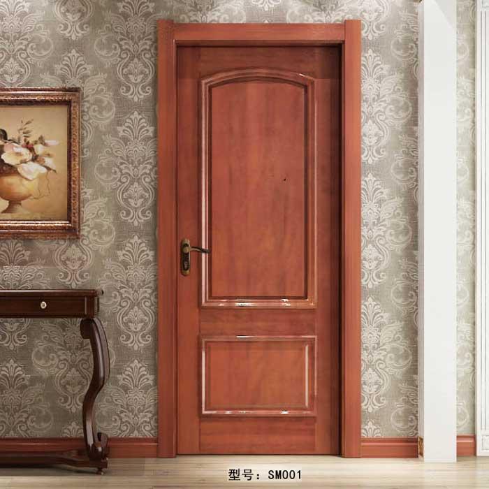 盼盼实木门SM001|室内门|盼盼木门