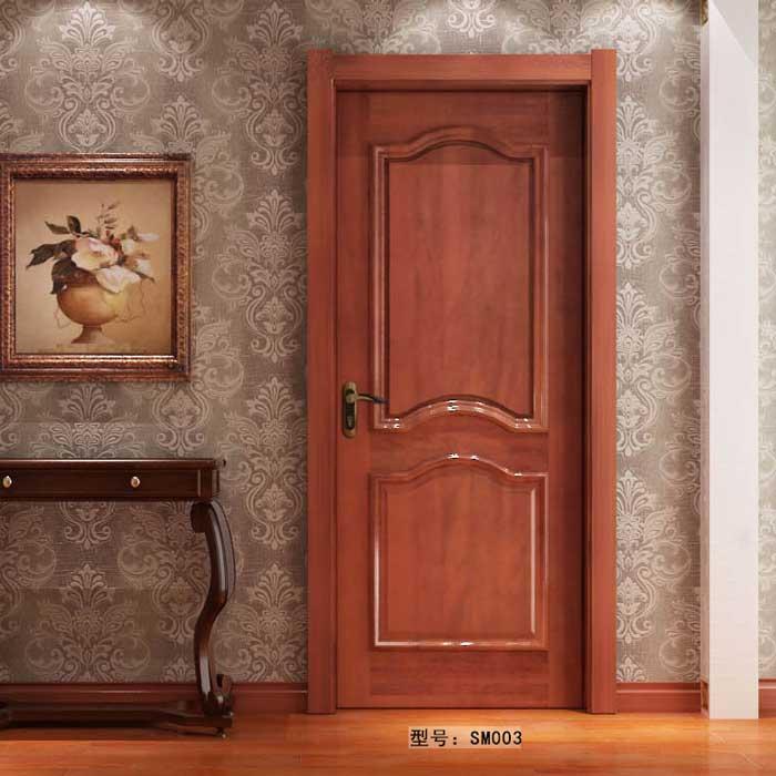 盼盼实木门SM003|室内门|盼盼木门