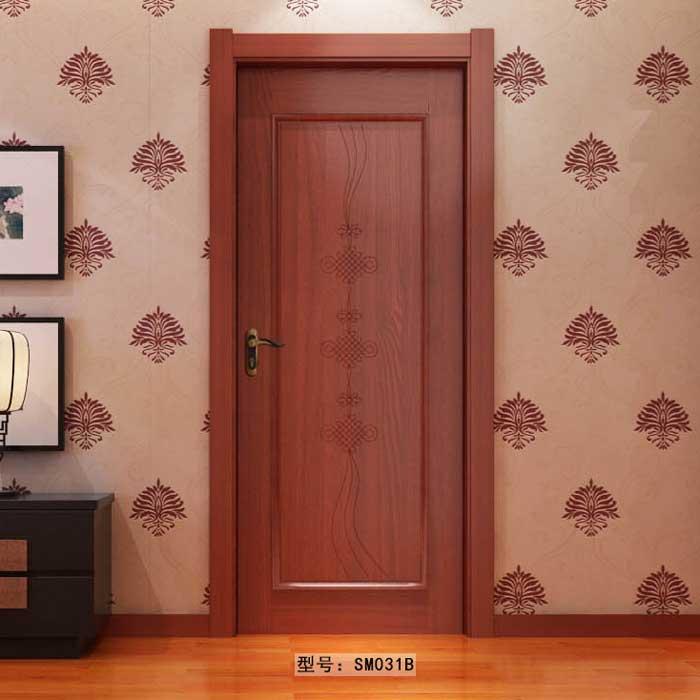 盼盼实木门SM031B|室内门|盼盼木门