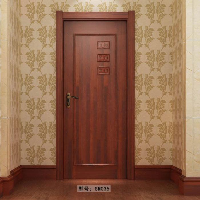 盼盼实木门SM035|室内门|盼盼木门