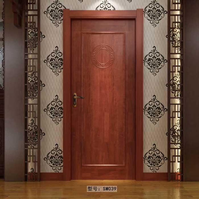 盼盼实木门SM039|室内门|盼盼木门
