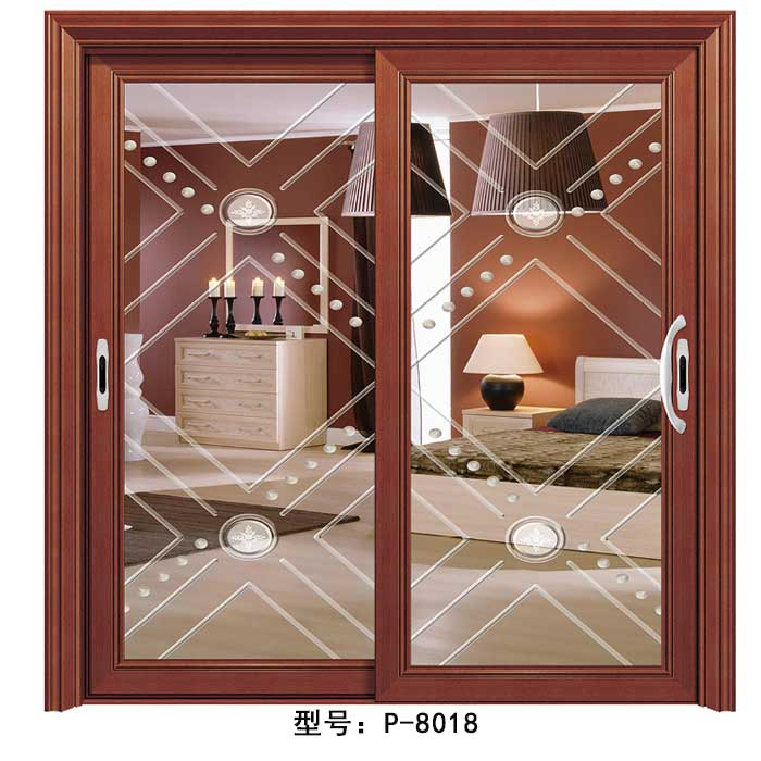 金太阳合金门P-8018|盼盼木门