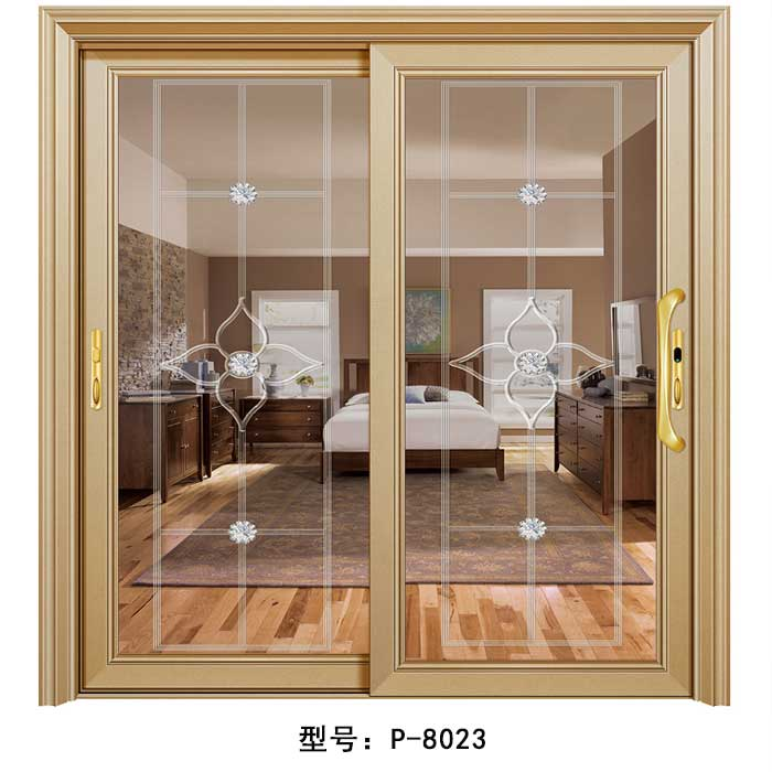 金太阳合金门P-8023|盼盼木门