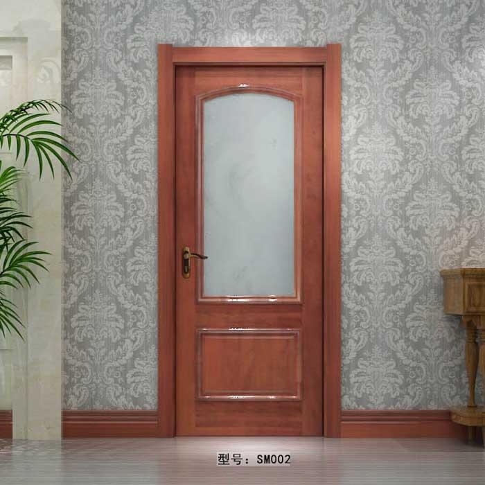 盼盼实木门SM002|室内门|盼盼木门