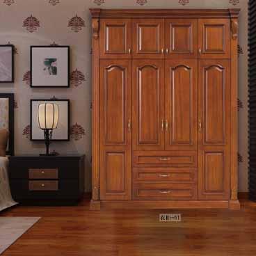 盼盼整木家装衣柜-01|盼盼木门
