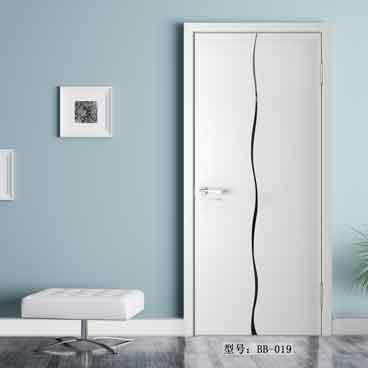 盼盼实木复合门烤漆门BB-019|室内门