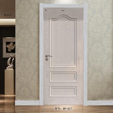 盼盼实木复合烤漆门BF17白开放|室内门