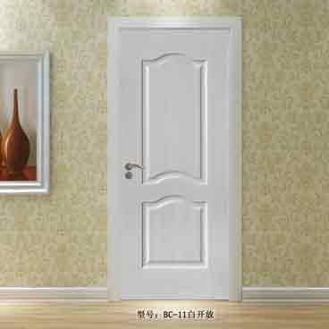 盼盼实木复合烤漆门BC11白开放|室内门