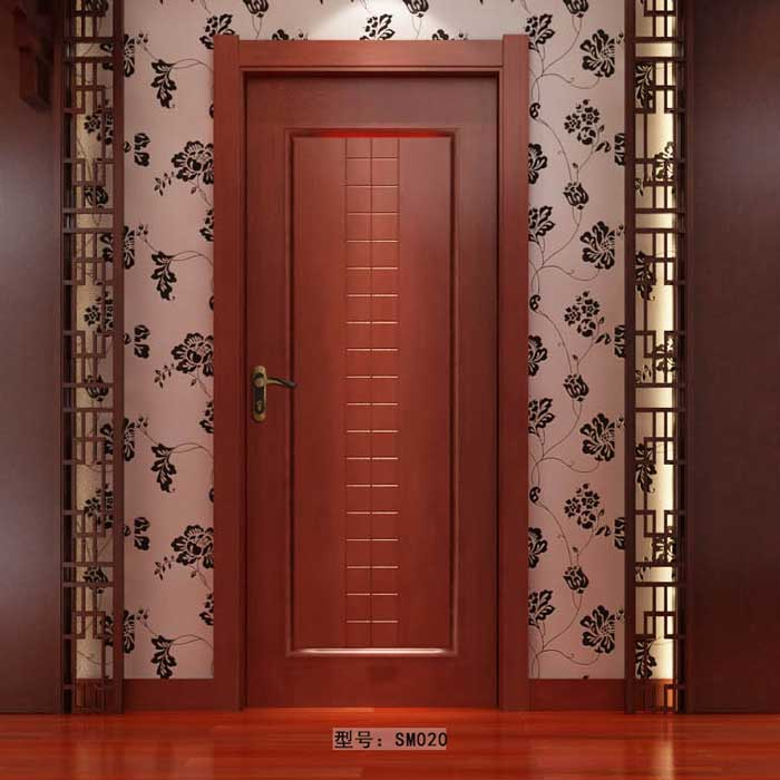 盼盼实木门SM020|室内门|盼盼木门