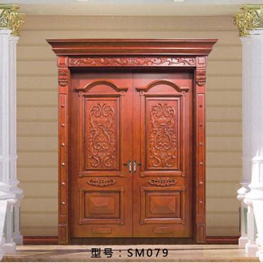 盼盼实木门SM079||室内门