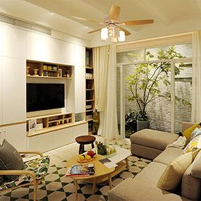 常规现代客厅系统|全屋定制