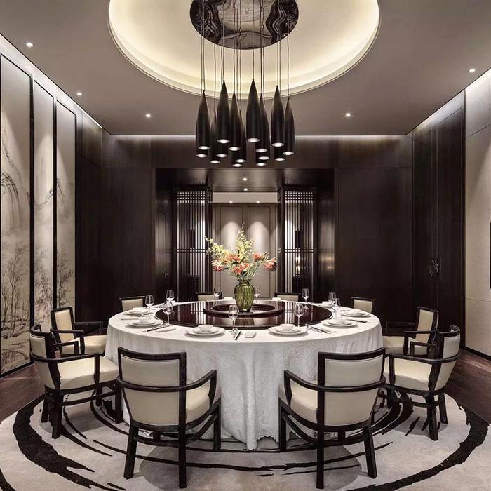 新中式餐厅系统|全屋定制