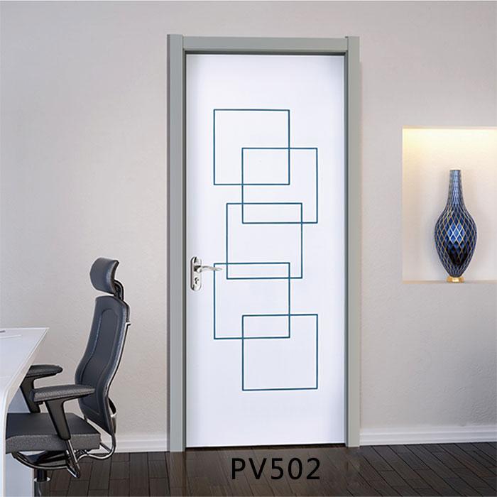 盼盼科技健康门PV502|盼盼木门