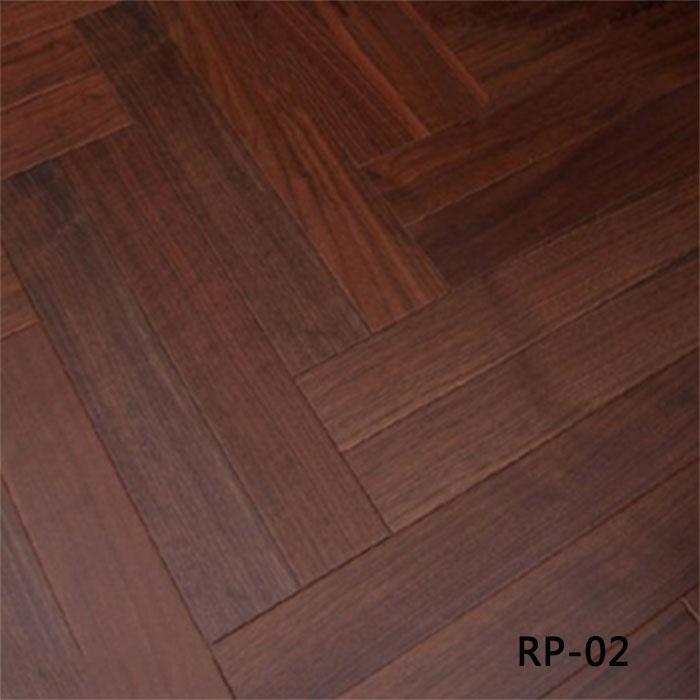 黑胡桃人字拼RP-02|盼盼地板