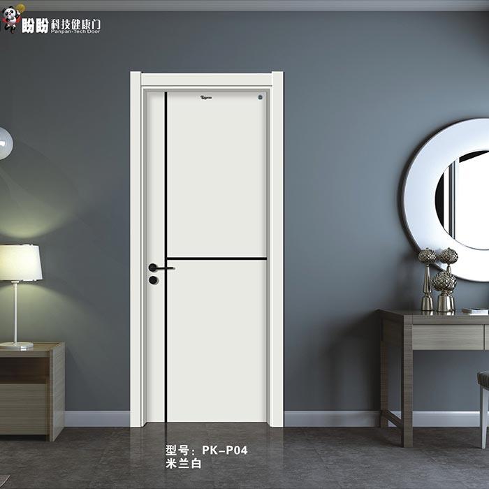 盼盼科技健康门丨PK-P04 米兰白