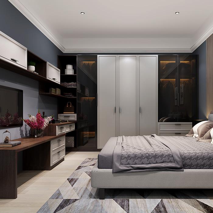 北欧风情卧室系统|全屋定制