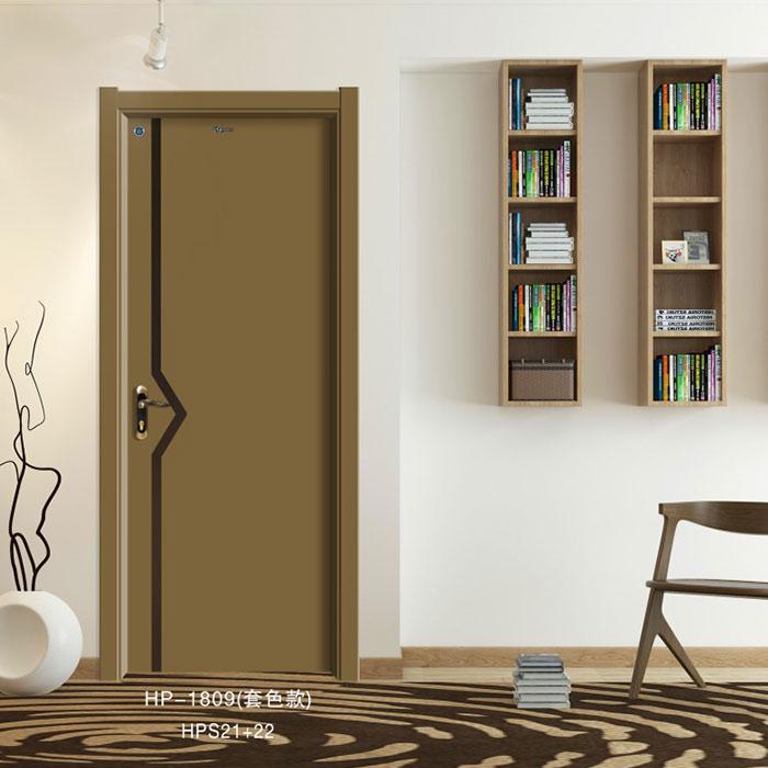 盼盼实木复合门HP-1809(套色款)