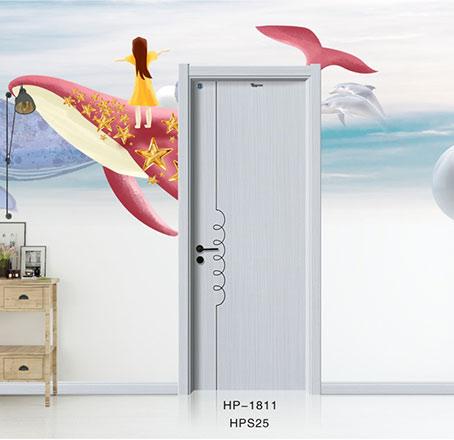 盼盼实木复合门HP-1811丨盼盼木门